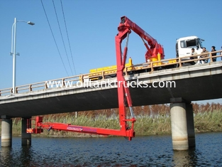 Trung Quốc 16m Bucket under  Bridge Access Equipment  Bridge Inspection units DONGFENG chassis  6 × 4 drive mode nhà cung cấp