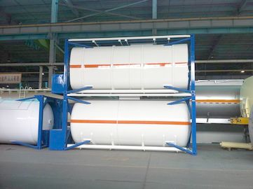 Trung Quốc ISO 30Ft , 40Ft Liquid Storage Tank Container Stainless Steel For Logistic Shipping nhà phân phối